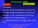 finanziaria 200816