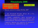 finanziaria 200824