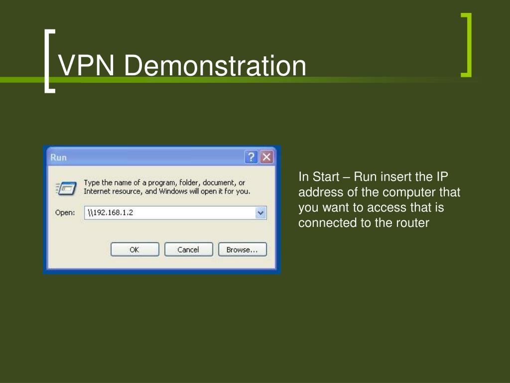 VPN Demonstration