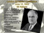 london economic conference june 12 1933 66 nations