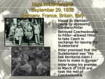 munich conference september 29 1938 germany france britain italy
