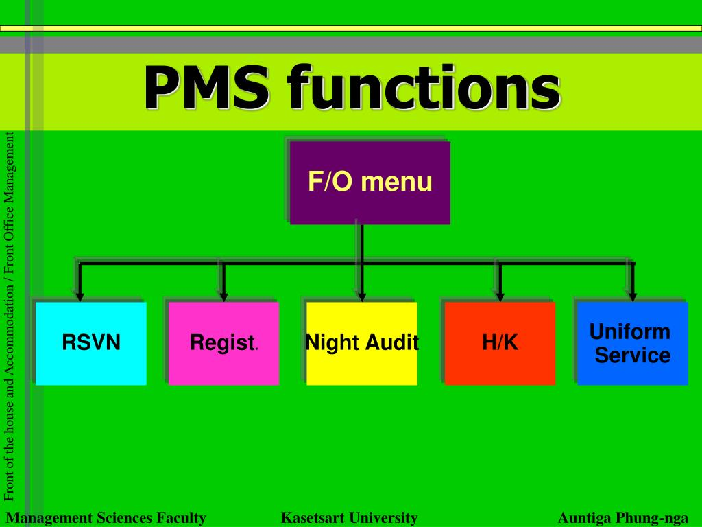 PMS functions