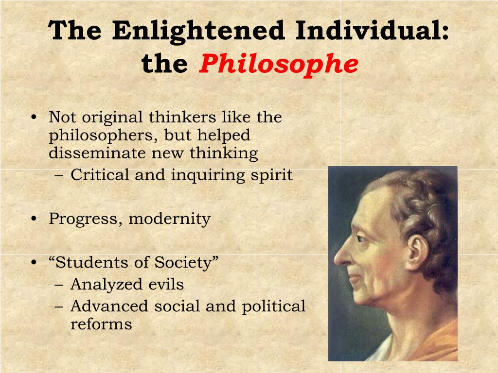 The Enlightened Individual:  the