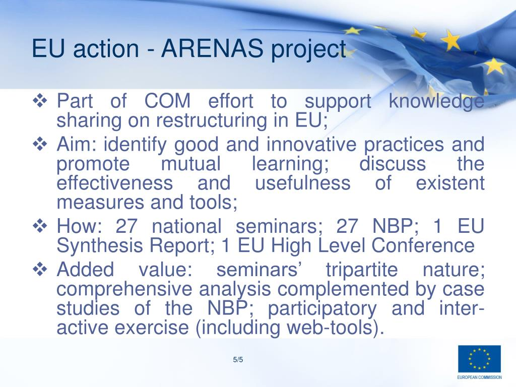 EU action - ARENAS project