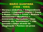 mario quintana 1906 1994