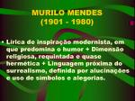 murilo mendes 1901 1980