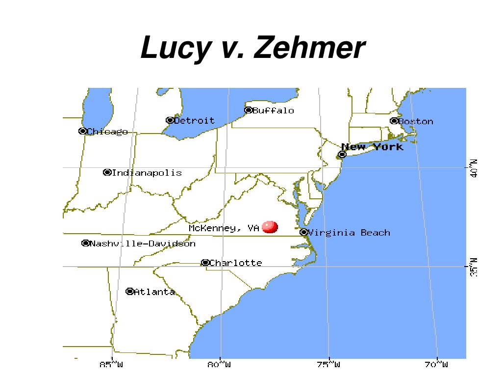 lucy v zehmer case brief Lucy v zehmer supreme court of 84 se2d 516 (va 1954) facts: lucy and zehmer got drunk the lucy v zehmer case has always intrigued me.