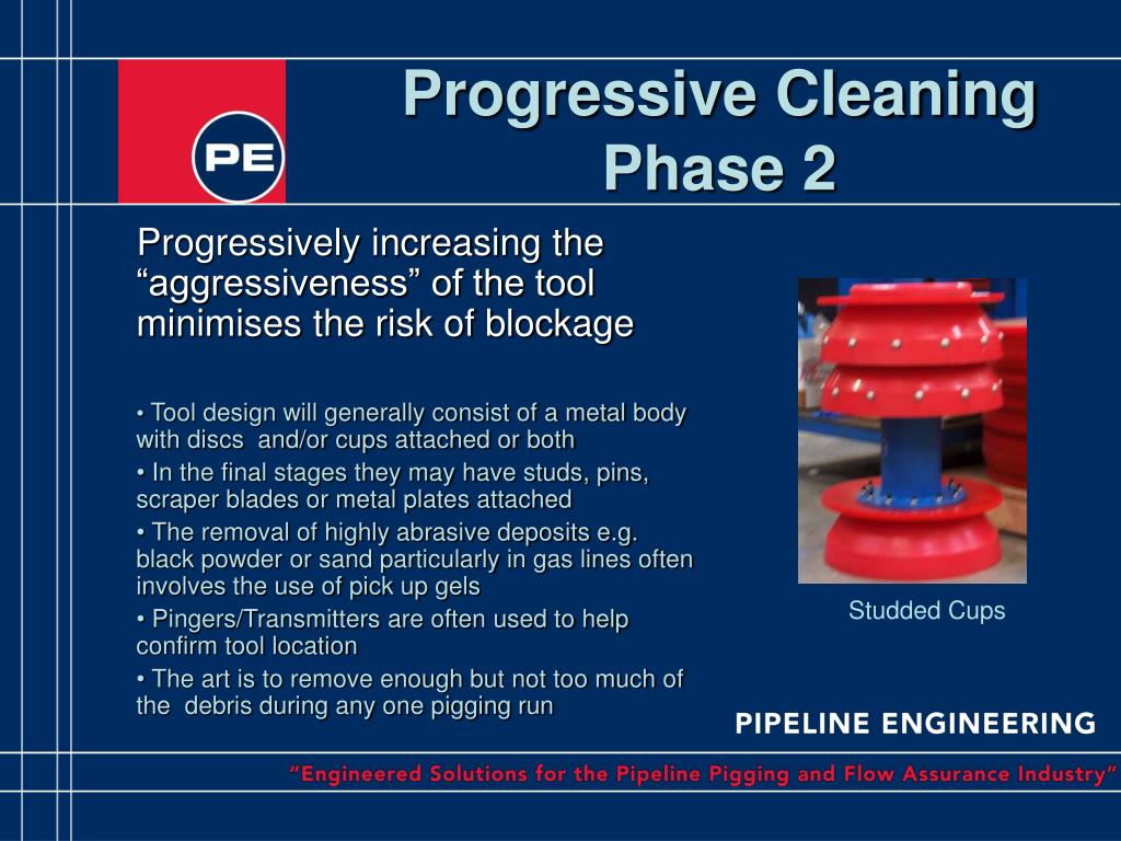 "Progressively increasing the ""aggressiveness"" of the tool minimises the risk of blockage"