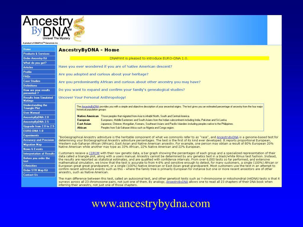 www.ancestrybydna.com