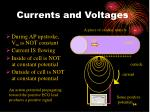 currents and voltages94