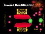 inward rectification