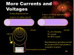 more currents and voltages