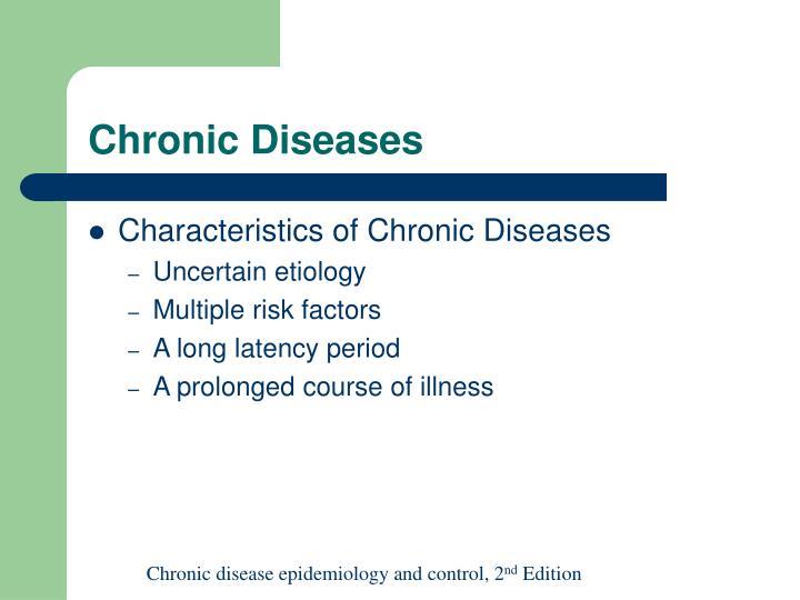 Chronic diseases3