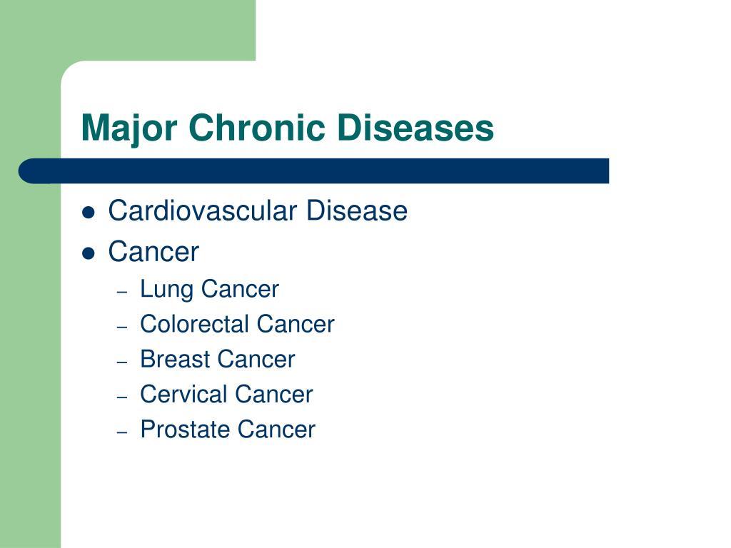 Major Chronic Diseases