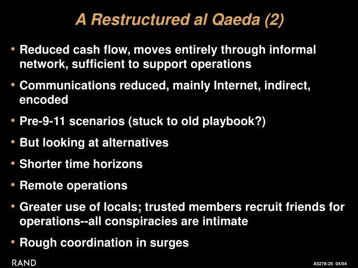 A Restructured al Qaeda