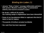 briefing bin laden 1