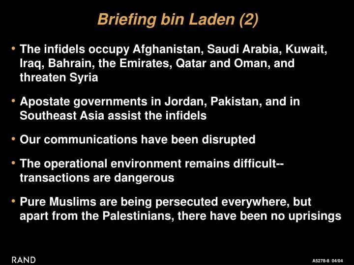 Briefing bin Laden (2)