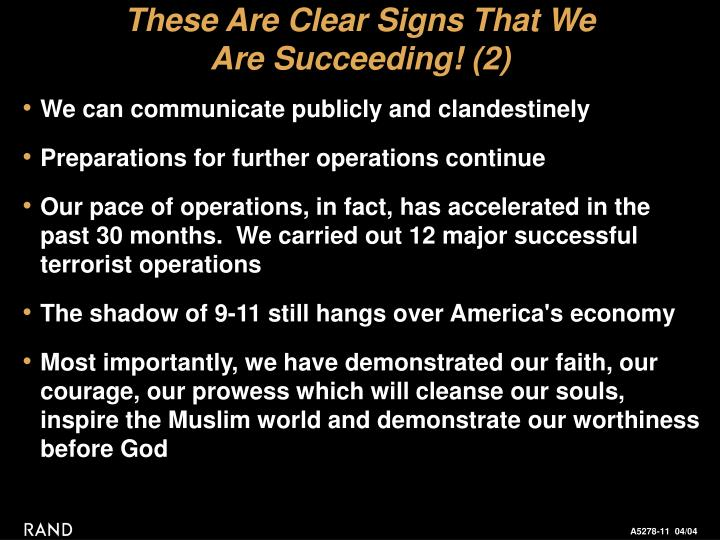 These Are Clear Signs That We