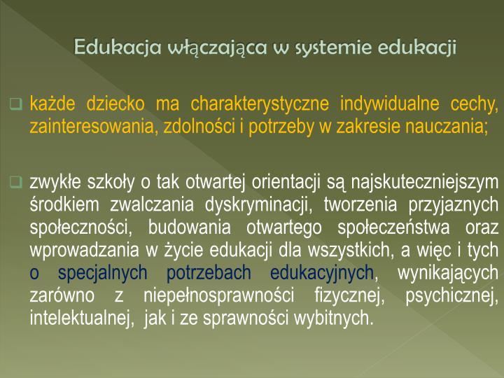 Edukacja w czaj ca w systemie edukacji3