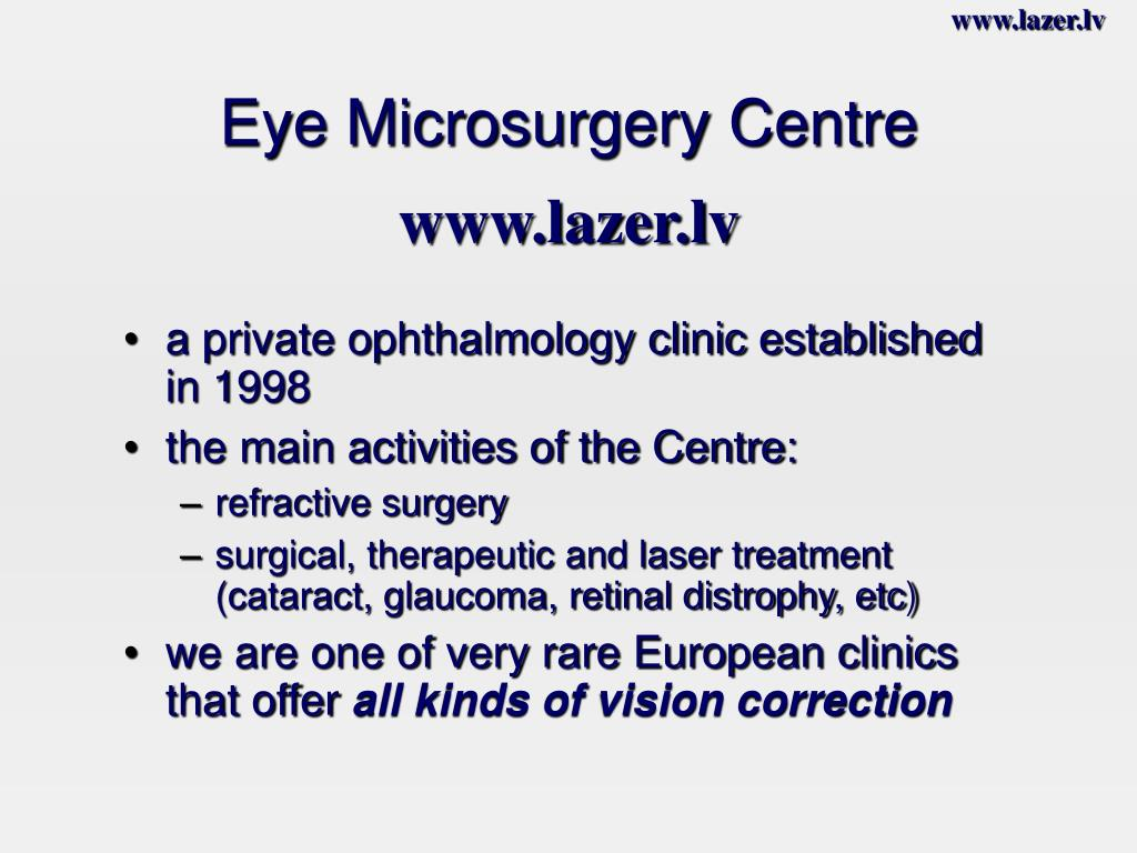 Eye Microsurgery Centre