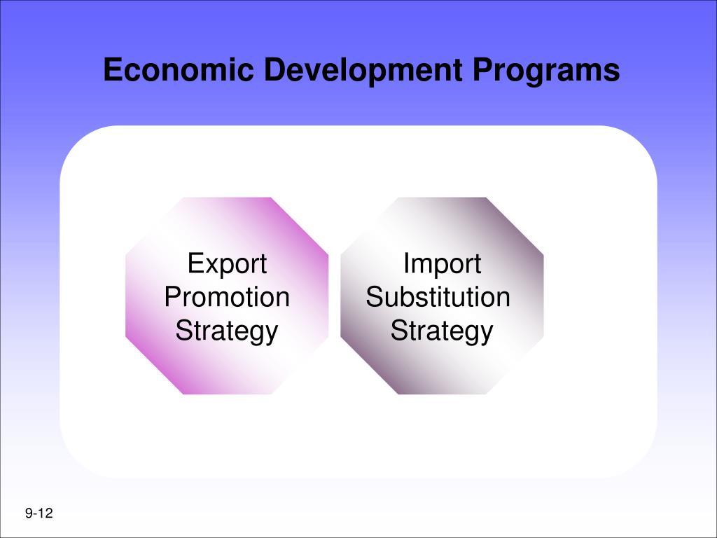 Economic Development Programs