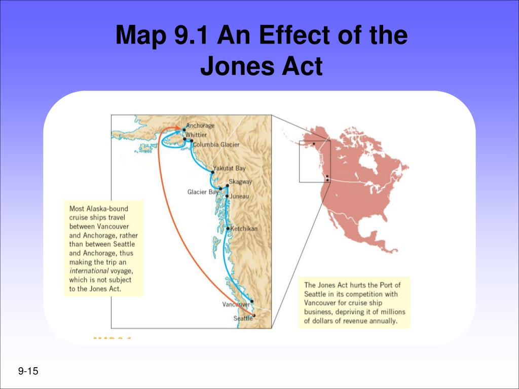 Map 9.1 An Effect of the