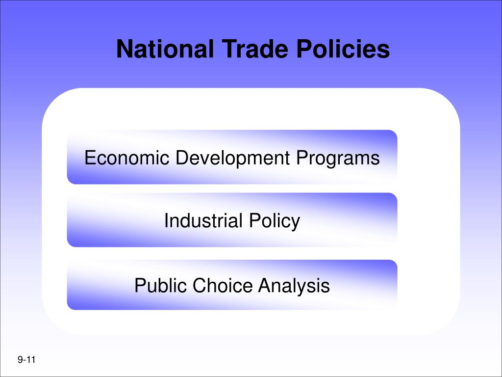 National Trade Policies