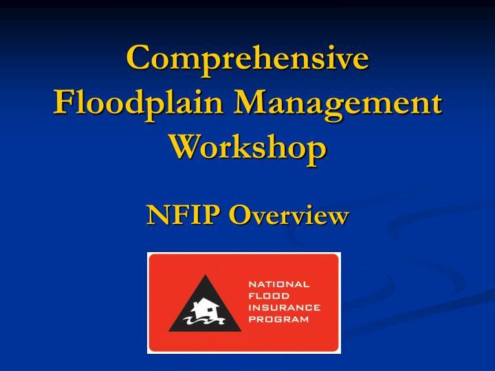 Comprehensive floodplain management workshop