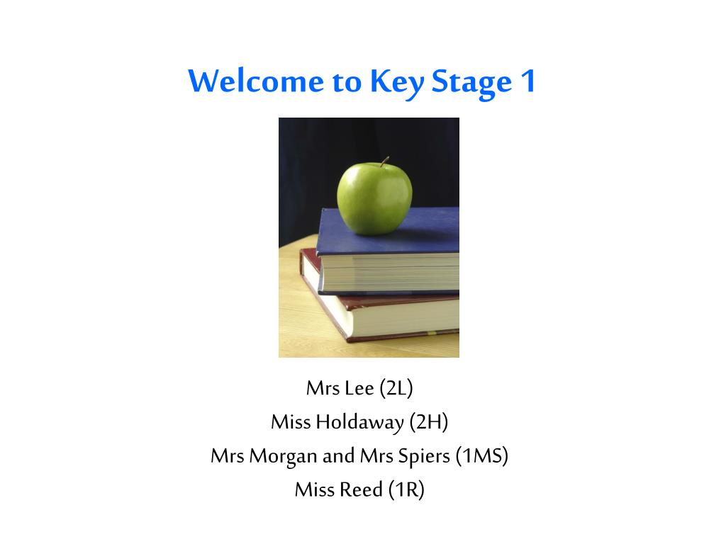 welcome to key stage 1 l.