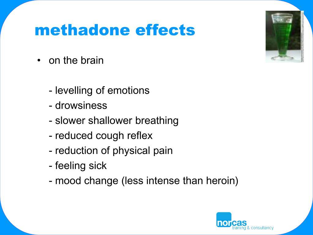 methadone effects