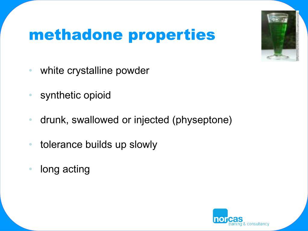 methadone properties