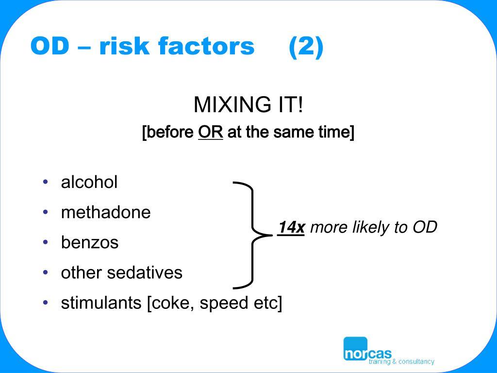 OD – risk factors    (2)