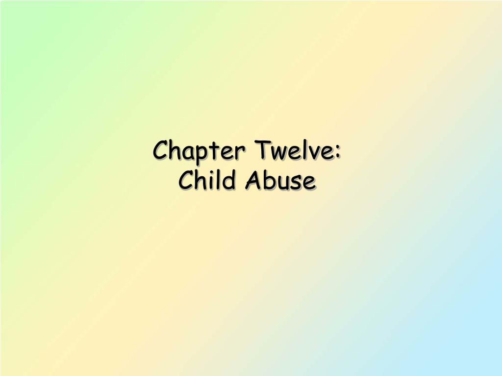 Chapter Twelve: