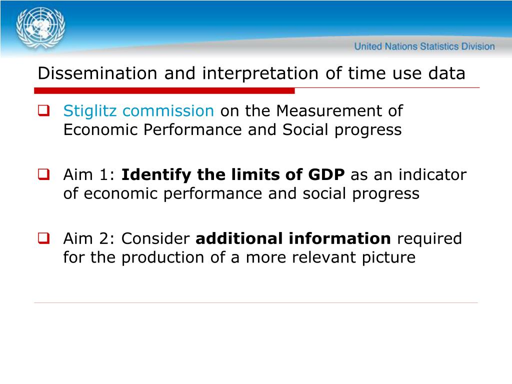 Dissemination and interpretation of time use data