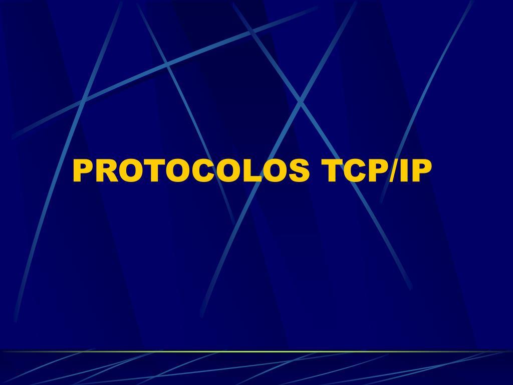 protocolos tcp ip l.