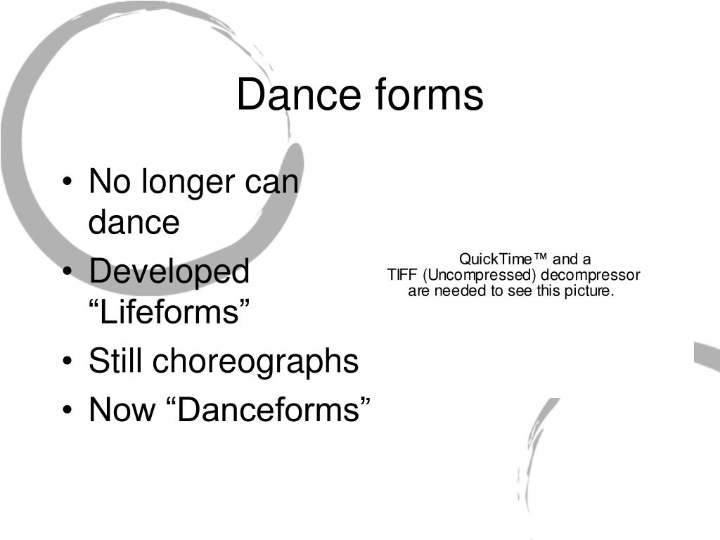 Dance forms