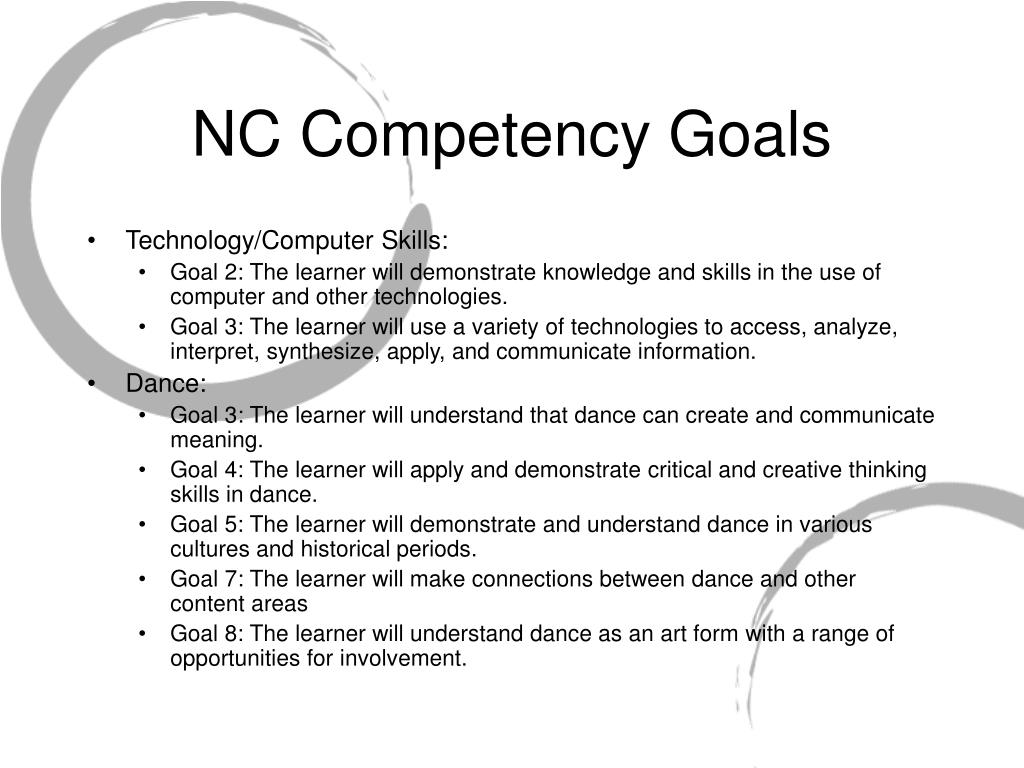 NC Competency Goals