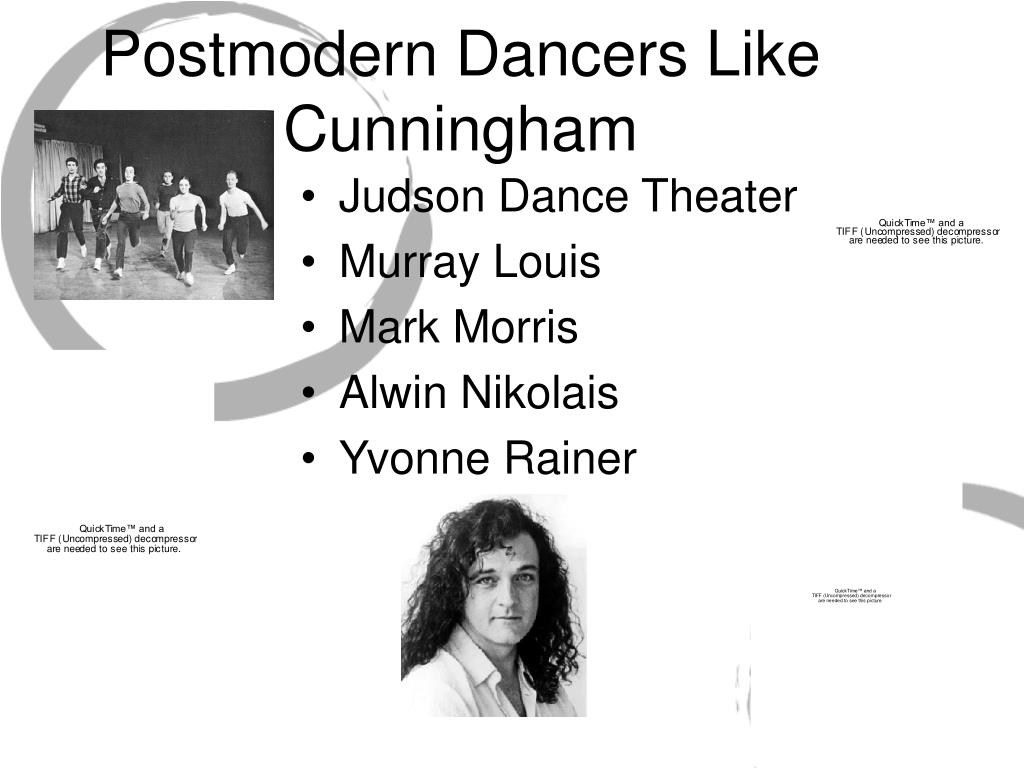 Postmodern Dancers Like Cunningham