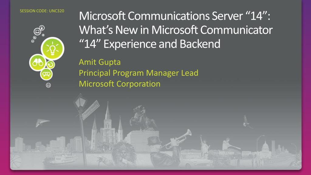 microsoft communications server 14 what s new in microsoft communicator 14 experience and backend
