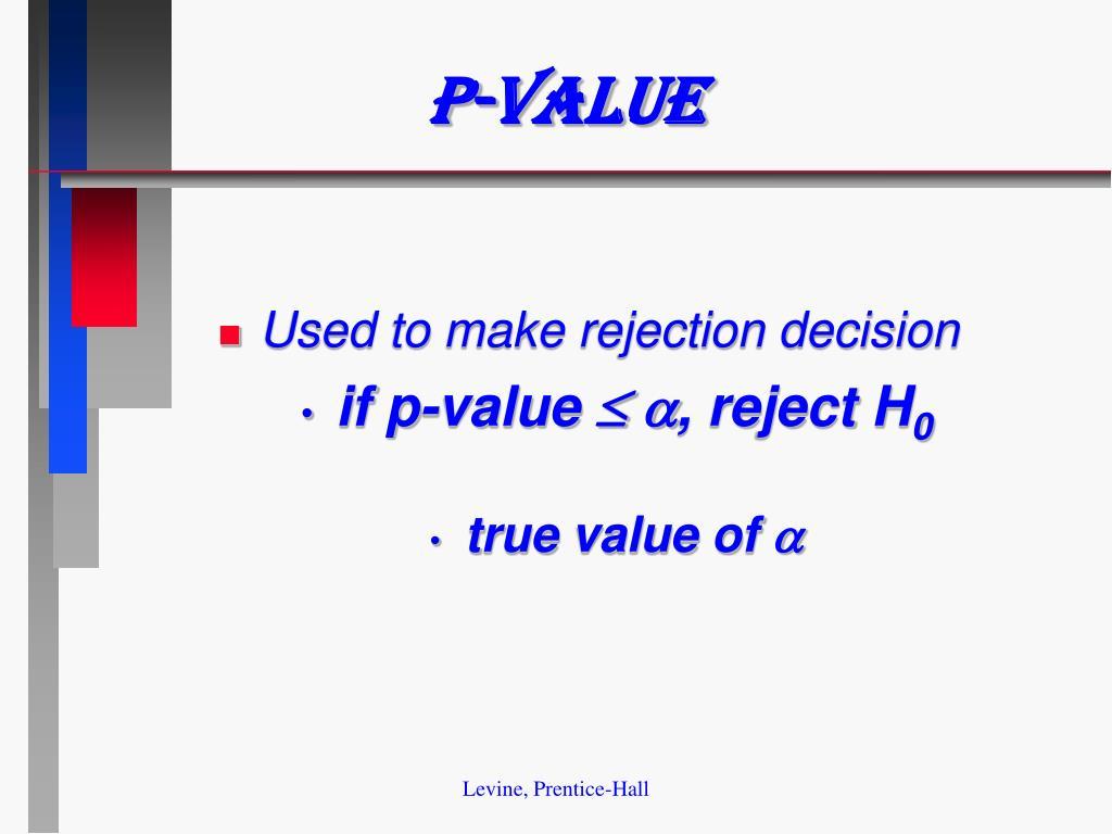 P-value
