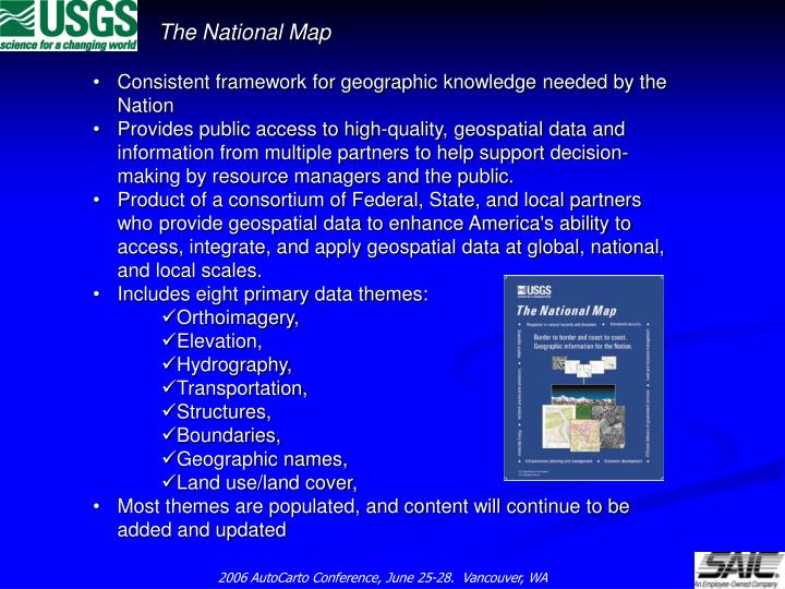 The national map