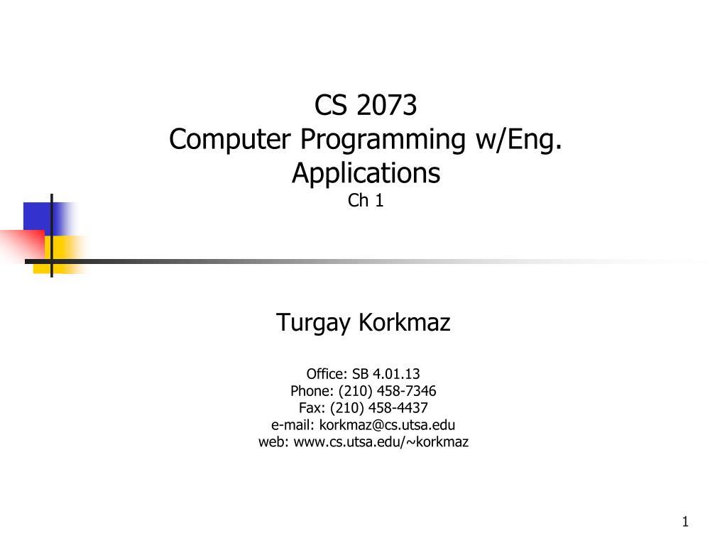 CS 2073