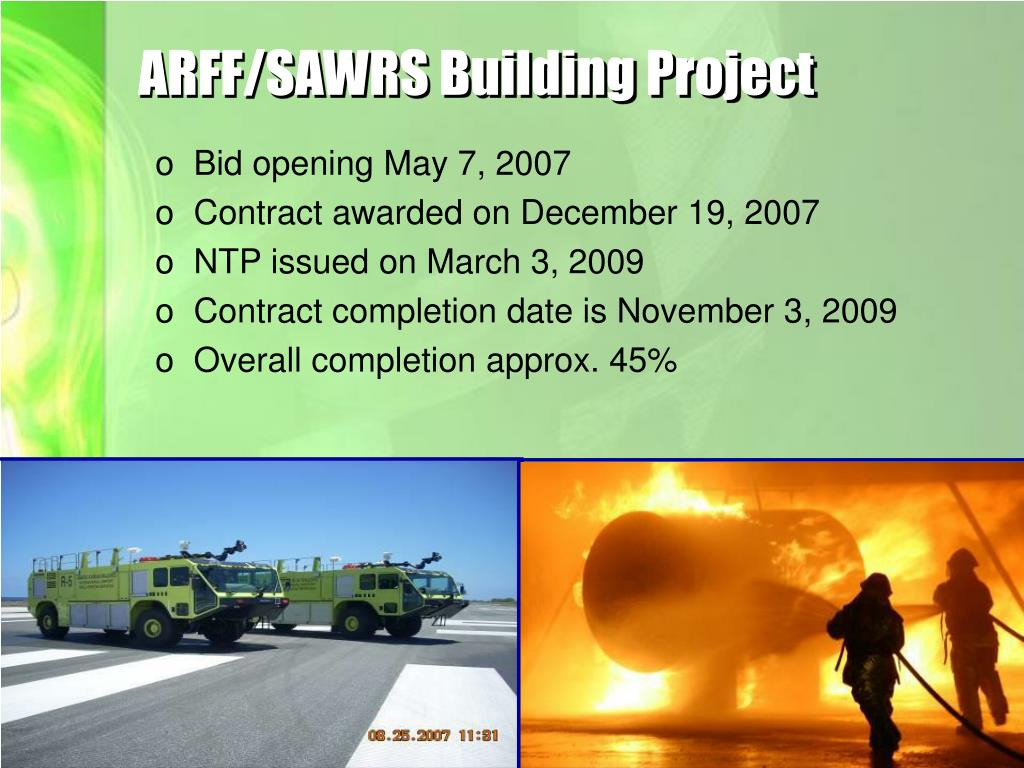ARFF/SAWRS Building Project