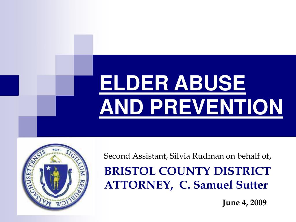 elder abuse and prevention l.