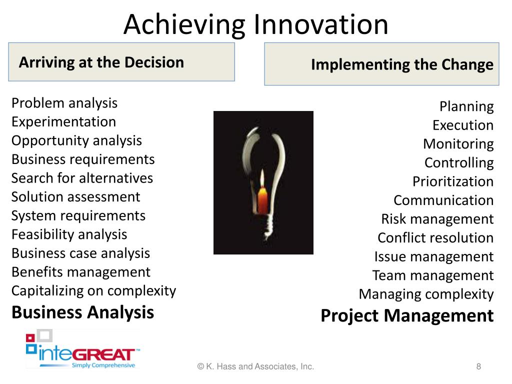 Achieving Innovation