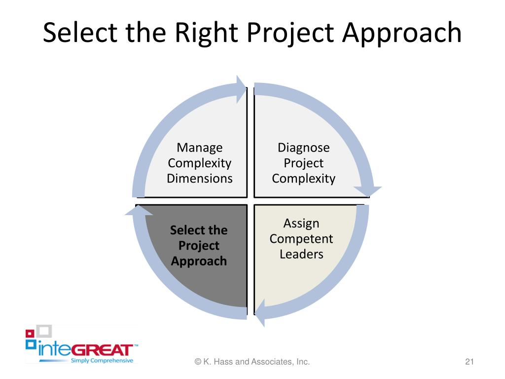 Select the Right Project Approach