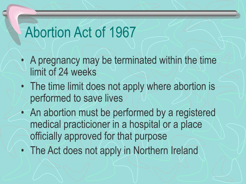 Abortion Act of 1967