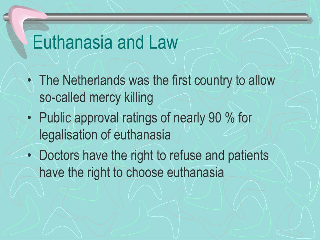 Euthanasia and Law