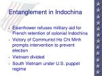 entanglement in indochina