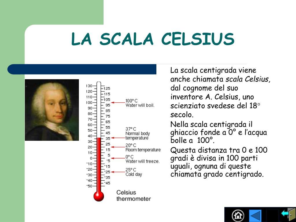 LA SCALA CELSIUS